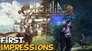 """New MMORPG Astellia Online First Impressions """"Is It Worth Playing?"""""""