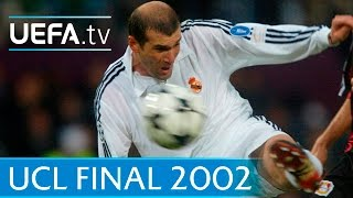 Real Madrid v Leverkusen - 2002 UEFA Champions League final highlights