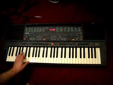 yamaha psr 400 funktionstest 1 youtube. Black Bedroom Furniture Sets. Home Design Ideas