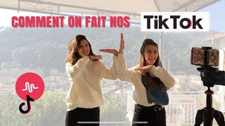 TUTO COMMENT ON FAIT NOS TIKTOK / MUSICALLY | MathildeClara_