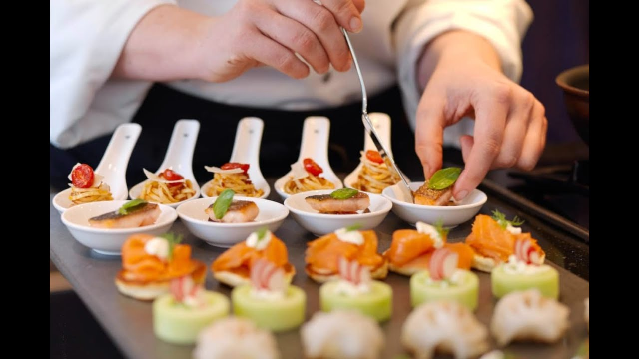 Servicio de catering en valladolid youtube for Types of canape