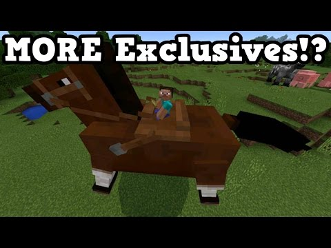 Minecraft Xbox One / PS4 - MORE Exclusives We Might See
