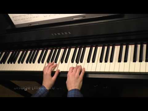 Walking in Memphis - Easy Piano Solo Tutorial with Sheet Music
