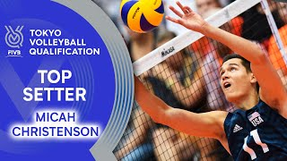 Micah Christenson - Best Setter of the World? | Top Setter | Volleyball Olympic Qualification 2019