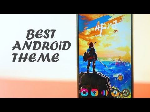 Top 7 Best Android Themes 2017 | Customize Your Android #7