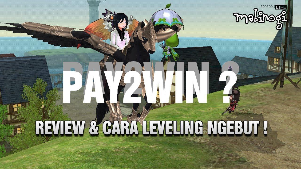 Pay2win Tips Leveling Cepat Mabinogi Fantasy Life Indonesia Youtube