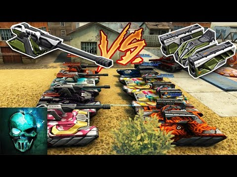 Tanki Online - Striker vs Magnum in Polygon CP | WHO WILL WIN !? #13 | танки Онлайн