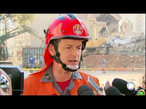Corpo de Bombeiros não descarta encontrar sobreviventes do desabamento