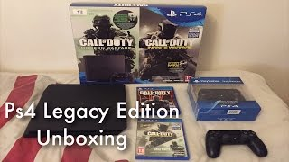 Ps4 Legacy Edition Unboxing (w/Infinite Warfare & Modern Warfare Remastered!)