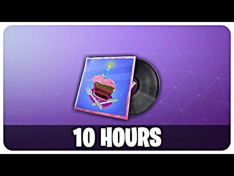 "FORTNITE - ""B-Day Beats"" MUSIC - 10 HOURS (Fortnite Season 9 ""Happy Birthday Remix"")"