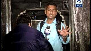 ABP News enters inside the temple of Kedarnath
