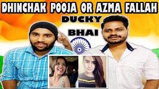 Indian Reaction On Ducky Bhai | DHINCHAK POOJA (SELFIE) OR AZMA FALLAH (CRINGE) | Krishna Views
