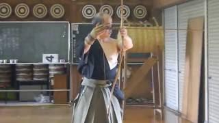Kyudo demonstration Master Kazushia Miyasaka