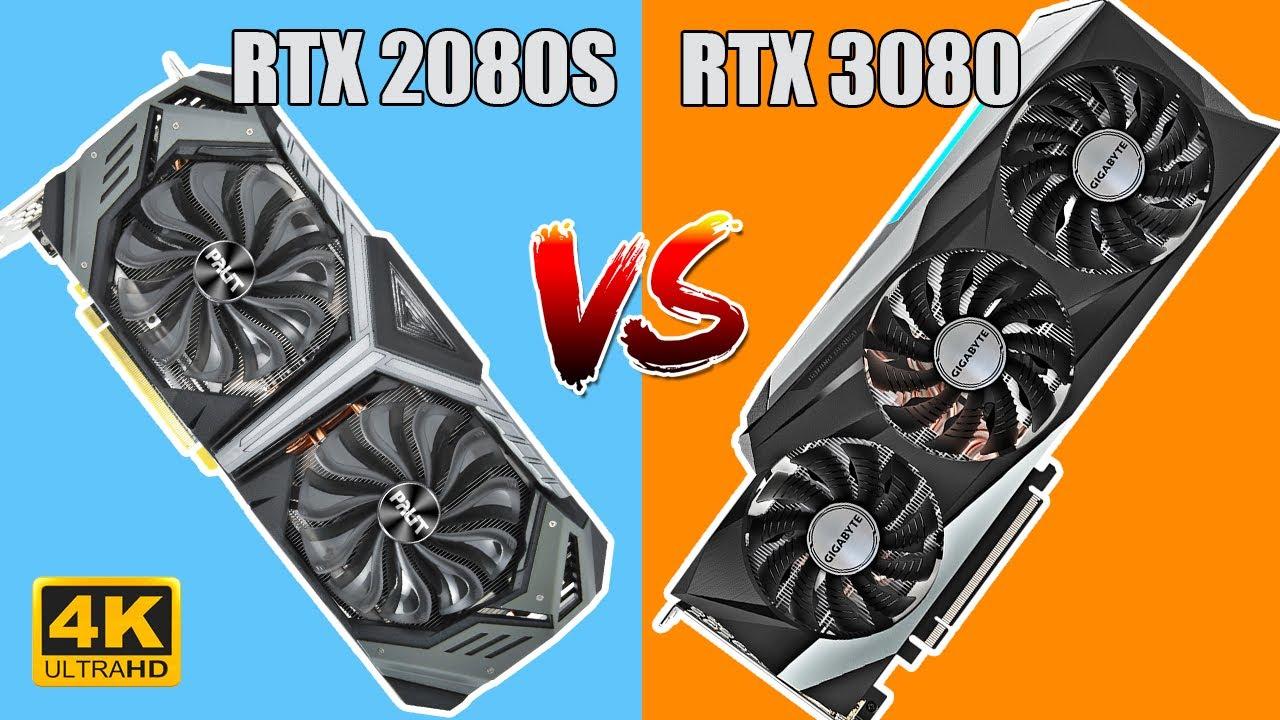 RTX 2080 SUPER VS RTX 3080 Gigabyte - Сравнение в Играх