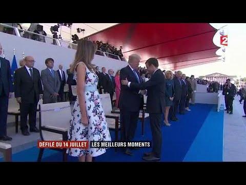 Le meilleur du défilé du 14-Juillet 2017 (France 2)