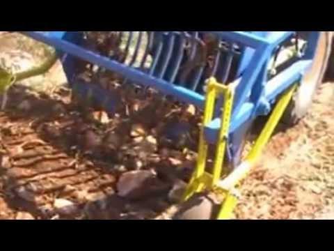 Raccoglisassi di raimondo modello duplex youtube for Di raimondo macchine agricole