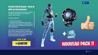 "Fortnite Pack Challenges Of Disruptor ""NEW PACK with 1000 V-Bucks"" Go the 100 LIKES"