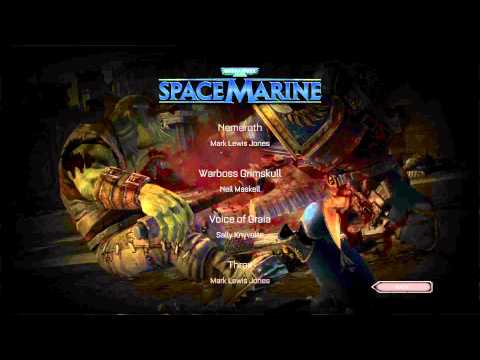 Let's Play Warhammer 40K: Space Marine Credits