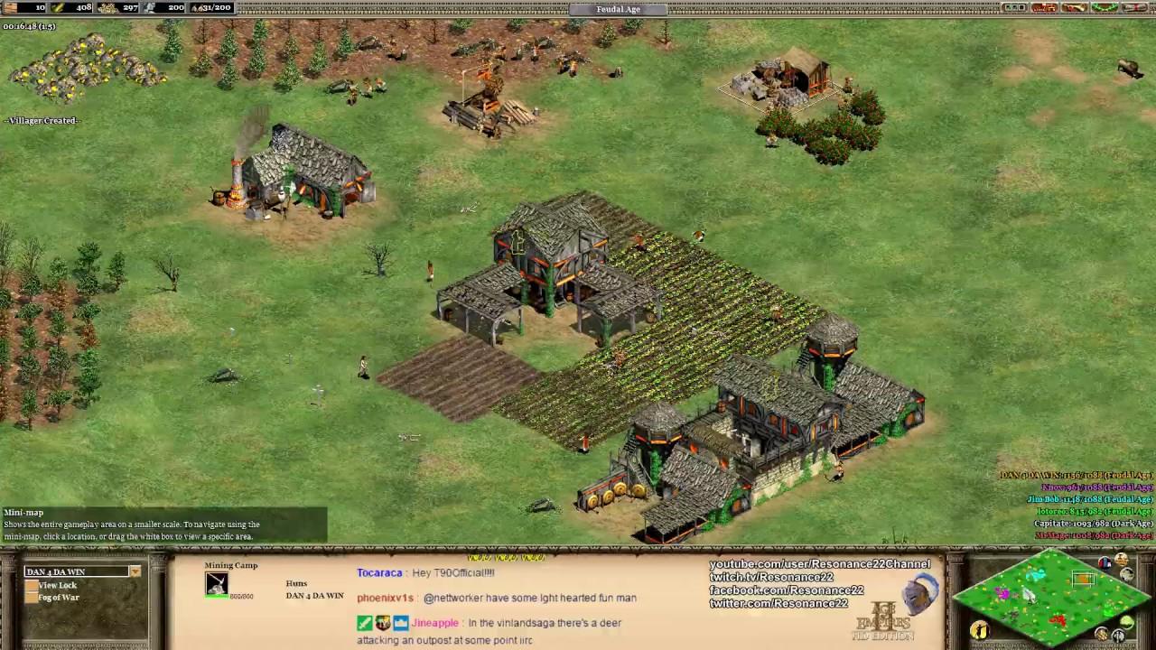 how to play aoe2 custom maps