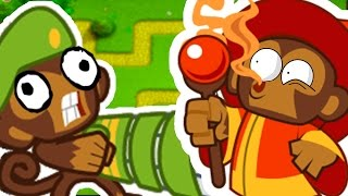 BLOONS TOWER DEFENSE 5 WITH A 4 MILLION SUBSCRIBER YOUTUBER!