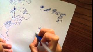 How to draw a cartoon Roman soldier  (by a kid FOR kidz!)