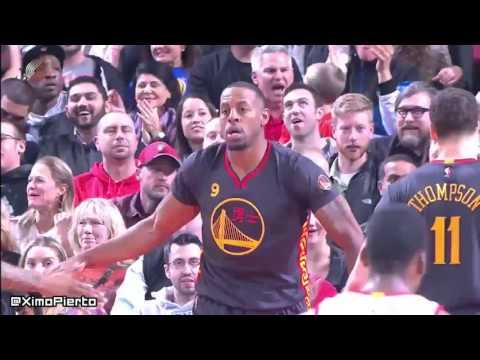 Golden State Warriors vs Portland Trail Blazers - Full Game Highlights | February 19, 2016 | NBA