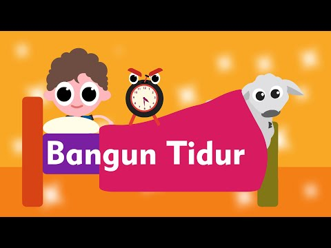 Bangun Tidur Kuterus Mandi - Lagu Anak Indonesia Populer