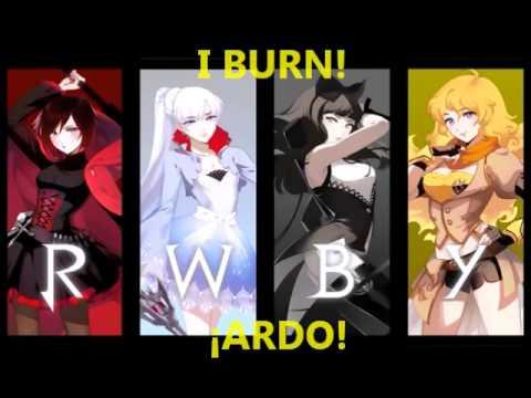 RWBY I Burn!  Sub & Lyrics