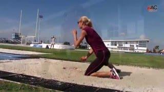 Darya Klishina Дарья Клишина Training at IMG Academy (2)