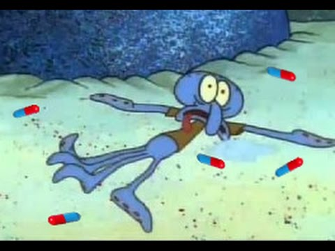 YTP: Squidward Goes on an Acid Trip and Enters a Magical Realm