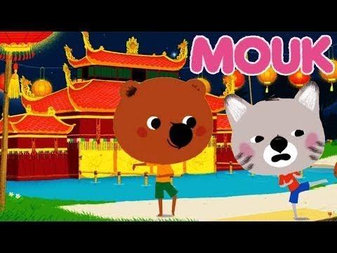 Découvre le monde avec Mouk ! Compilation 20min ! Le Tai-Chi et le Cinéma - Dessin animé francais