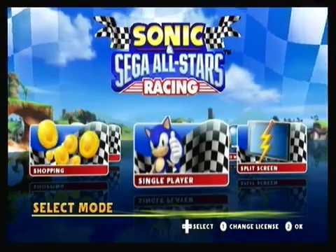 Sonic & Sega All-Stars Racing Online Wii