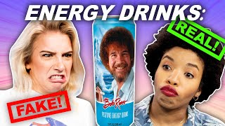 Can We Spot the Fake Energy Drink?