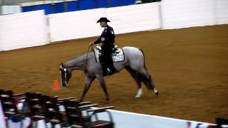 Vs Code Red & Charlie Cole's Jr. Western Riding Pattern At The 2011 Congress