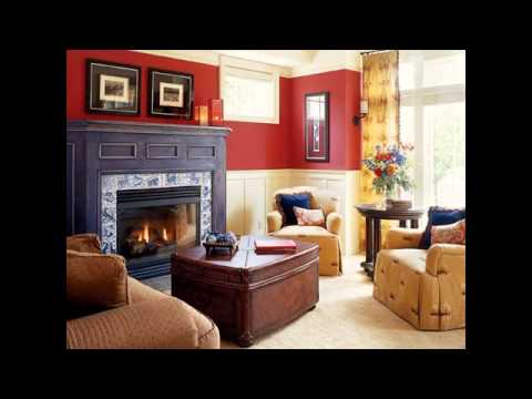 color schemes for living room with brown couch parking theater portland sofa youtube