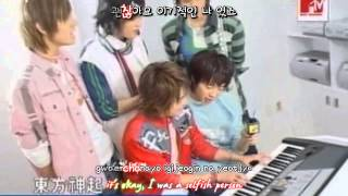 DBSK 동방신기 - Doll 인형 (Junsu piano) [eng + rom + hangul + karaoke sub]
