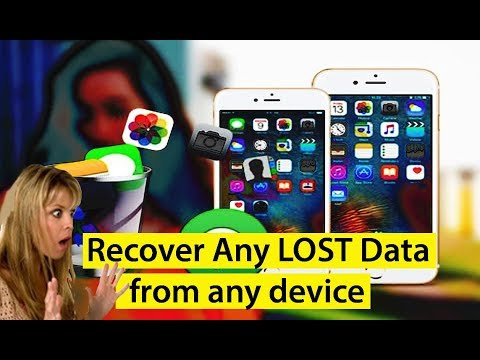 Recover Deleted, Formatted, Damaged, Lost Data/File/Photos/Videos/Music for Any Device