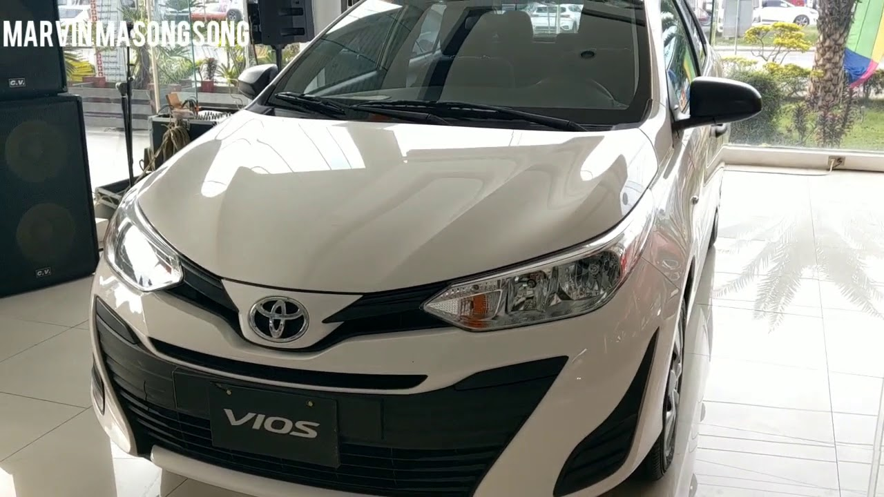 All New Toyota Vios 1 3 J Low End Mt Freedom White Walk Around