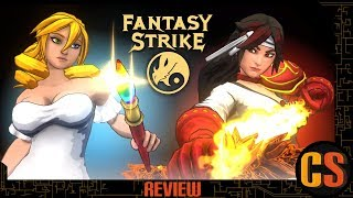 FANTASY STRIKE - PS4 REVIEW (Video Game Video Review)