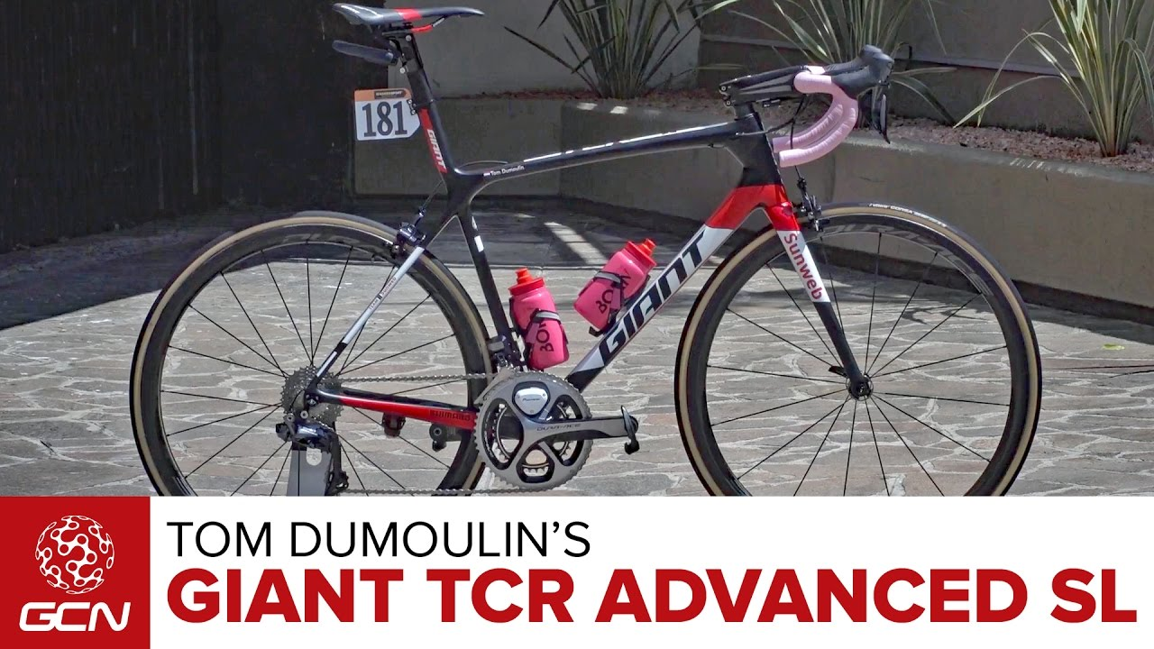 Tom Dumoulin S Giant Tcr Advanced Sl Youtube