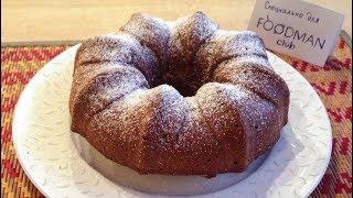 Шоколадный кекс с изюмом: рецепт от Foodman.club