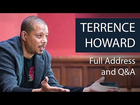 Terrence Howard  Full Address and Q&A  Oxford Union