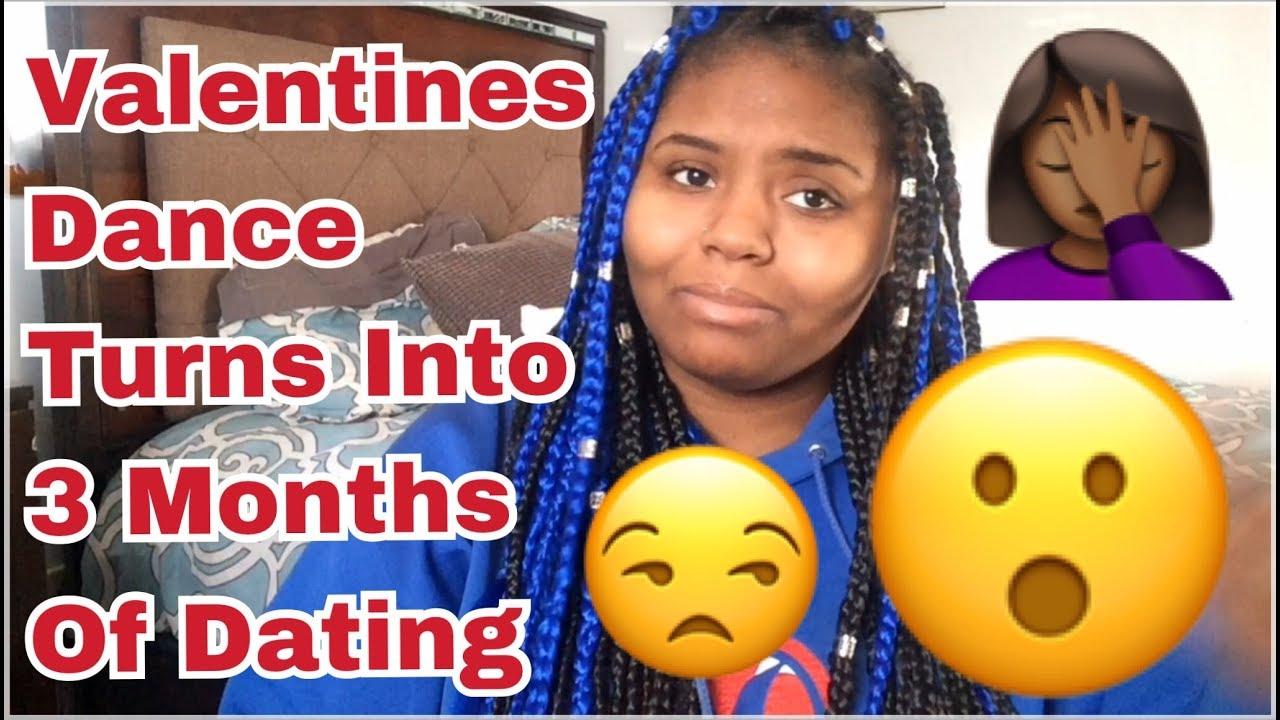 3 months dating valentine