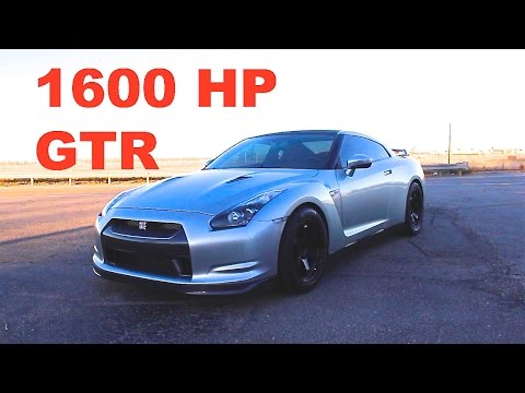 Think you know fast? 1600hp Nissan GTR Review!