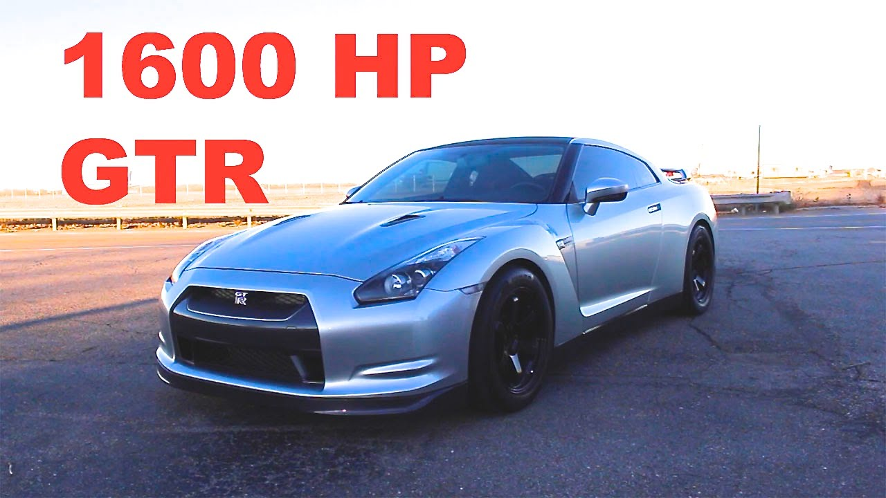 Think you know fast? 1600hp Nissan GTR Review! - YouTube
