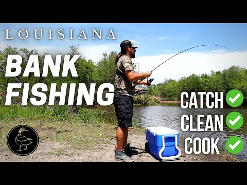 LOUISIANA Tight-Lining for Catfish! (CATCH CLEAN COOK)