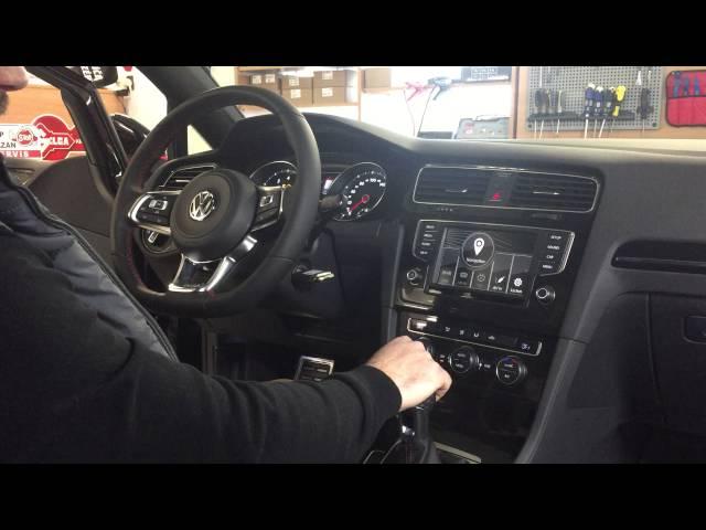 Navigace a multimediální adaptér pro VW Golf 7 GTi