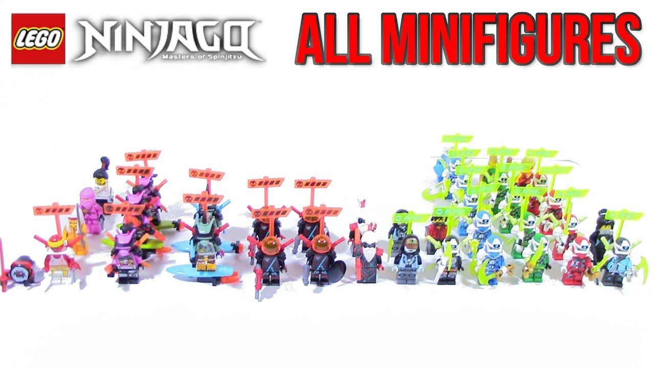 All LEGO Ninjago Season 12 Minifigures Overiew - YouTube