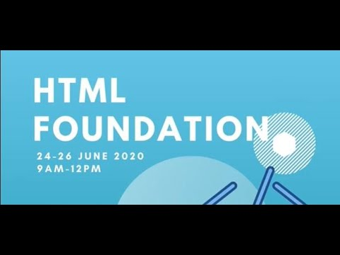 HTML FOUNDATION