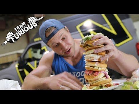 McDonald's Ultimate Dollar Menu Burger (5,000+ Calories)